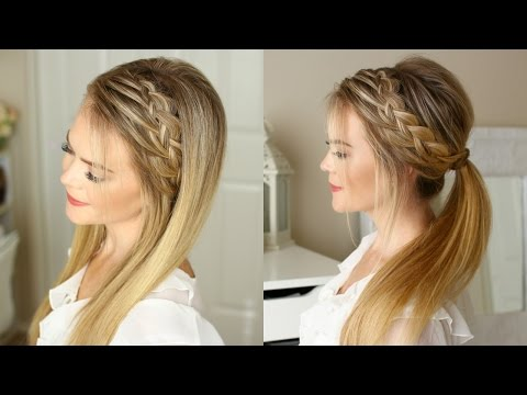 Woven Headband Braid | Missy Sue