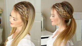 Woven Headband Braid | Missy Sue