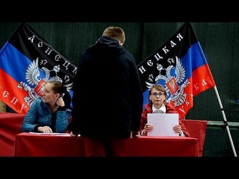 'Self-rule' votes in Donetsk and Luhansk a 'step toward the abyss' says Kyiv as polls open