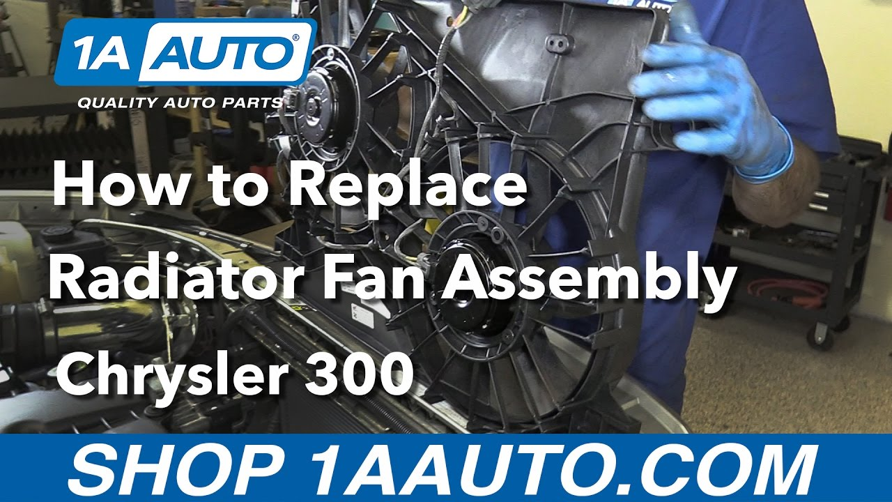 How To Replace Install Radiator Fan Assembly 2005 10