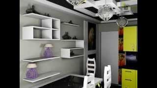 Декор современной кухни, полки, картины, мебель, светильники, стол, стулья, шкафы(Дизайн кухни Дизайн кухни а именно кухонной мебели должен прост в изготовлении и его установке, с другой..., 2014-11-25T17:17:12.000Z)