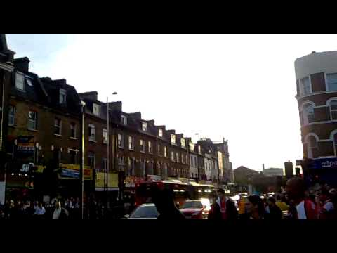 The Arsenal Football in Seven sisters Road.mp4