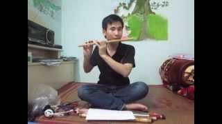 Lý qua cầu- hướng dẫn thổi sáo Cao Trí Minh