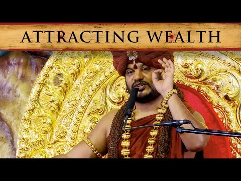 What is the secret to attracting wealth?