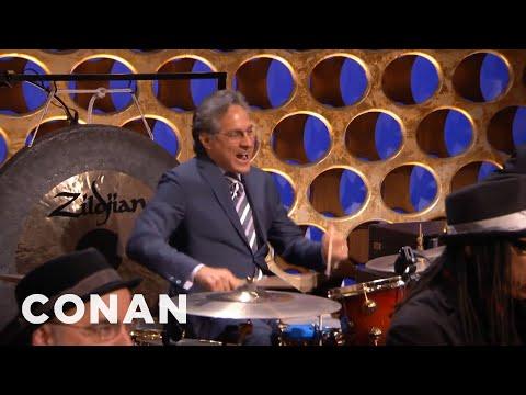 Max Weinberg Returns To CONAN  - CONAN on TBS