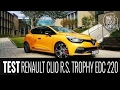 Renault Clio R.S. Trophy EDC 220 - test - What About Cars TV