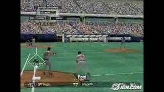 Major League Baseball 2K5 Xbox Gameplay - On Command