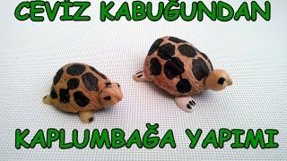 Ceviz Kabuğundan Süs Kaplumbağa Yapımı