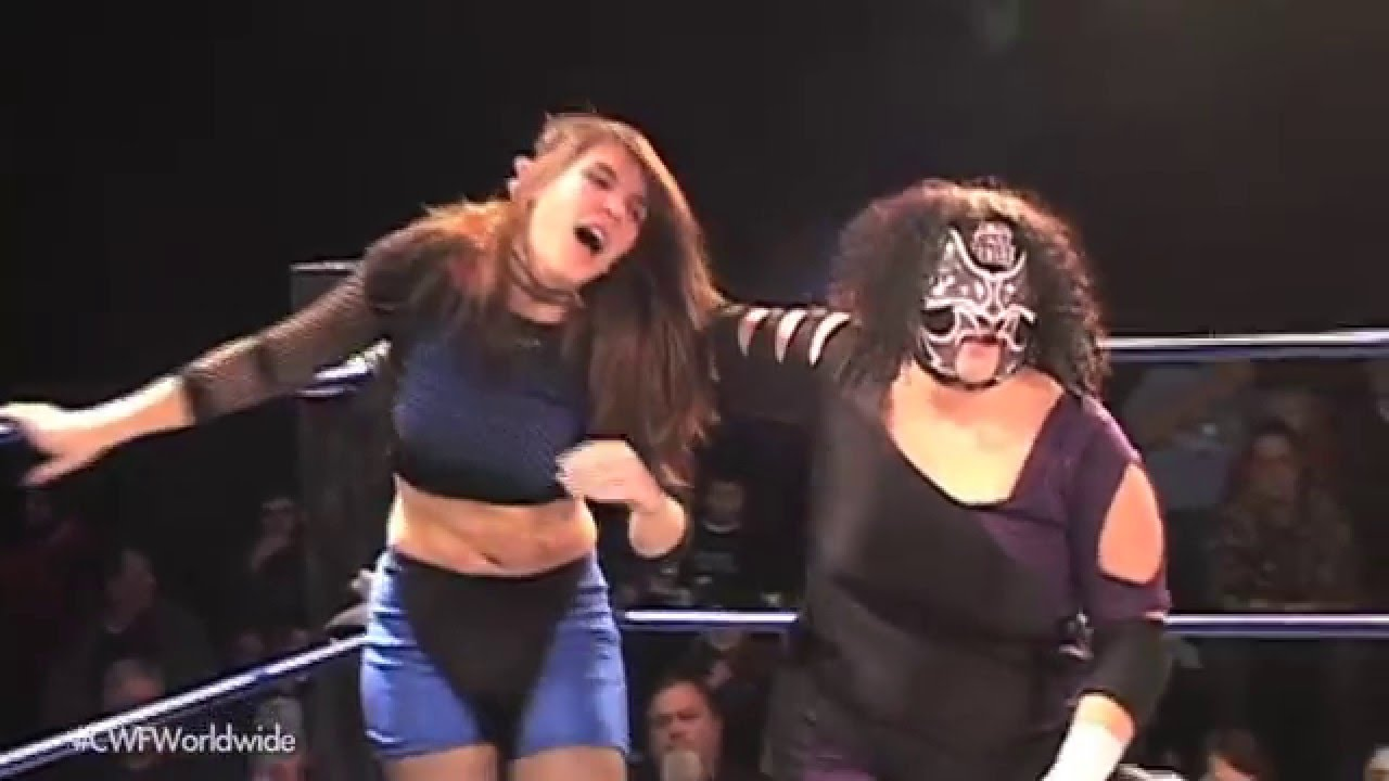 Cwf Mid Atlantic Wrestling Delilah Blue Dirty Daddy Vs Sis Michael Mcallister