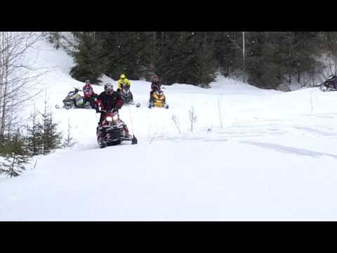 Дыбки, снегоход summit 146
