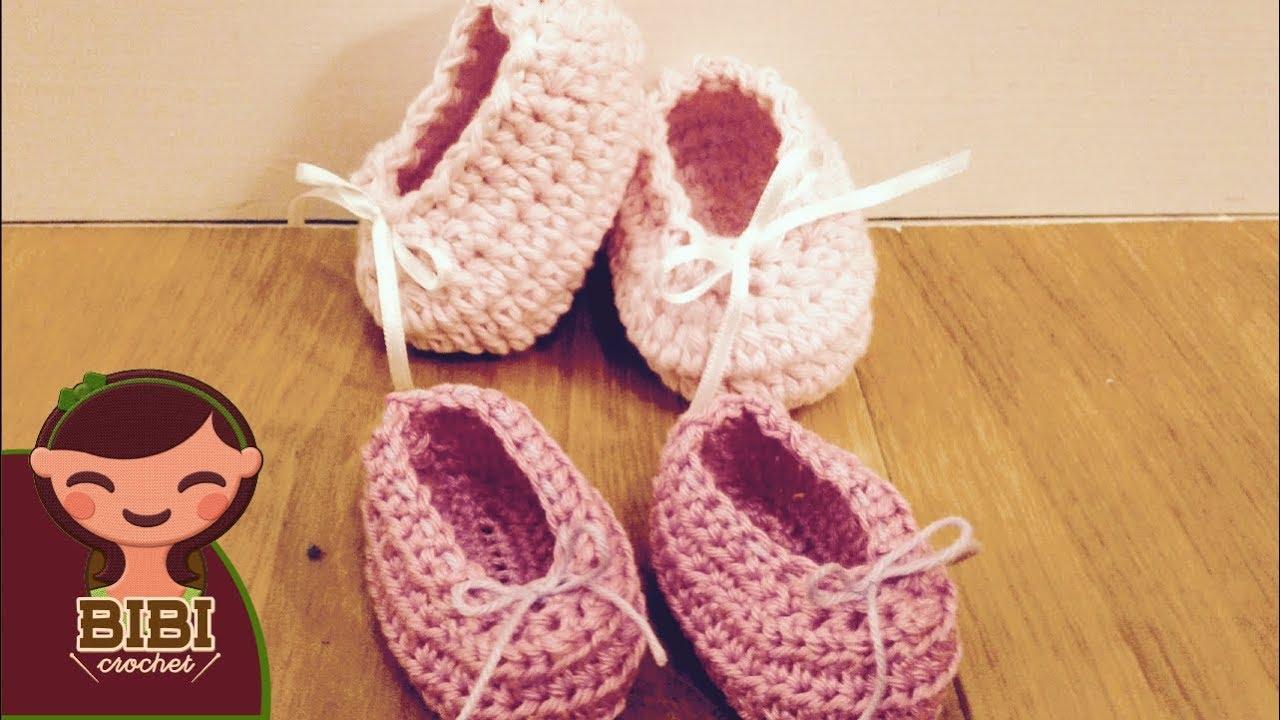 Como hacer zapatos para bebe en crochet de 0 a 3 meses de - Dibujos para sabanitas de bebe ...