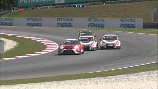 2015 Sepang,TCR Race 1 Highlights