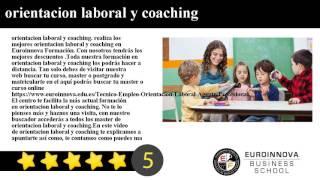 orientacion laboral y coaching