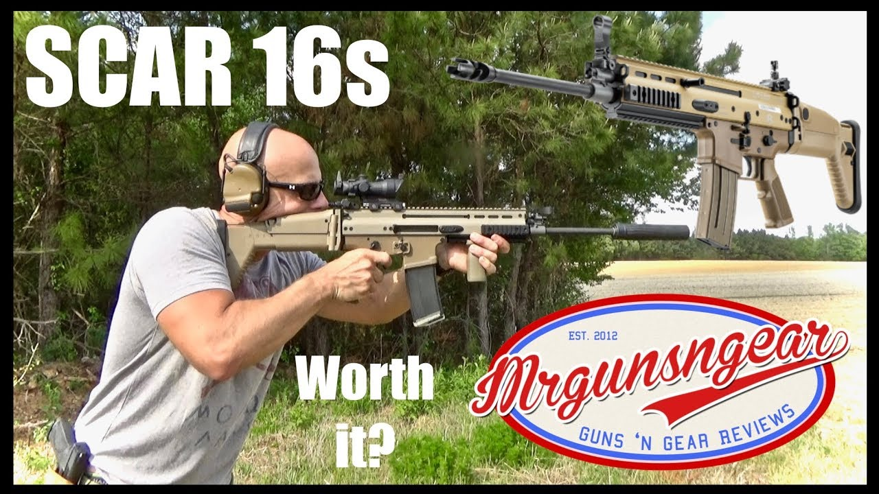 FN SCAR 16 5/56 Rifle Review: Is It Worth The Money? Better Than An AR-15?