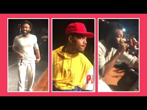 Chance the Rapper Surprises Chicago Youth With Donald Glover