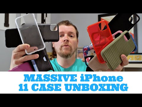 Best iPhone 11 Cases Unboxing Pt.1