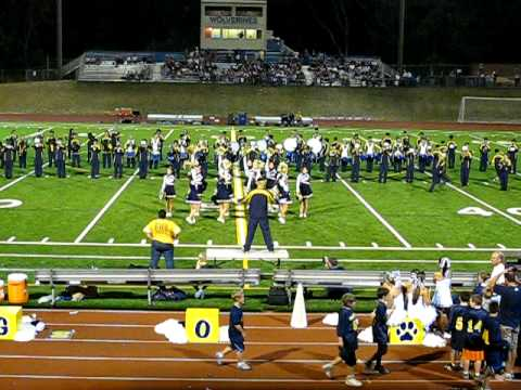 Bad Romance - Bellevue High School Marching Band and Drill Team