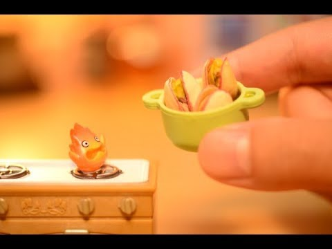 Stopmotion Cooking -GHIBLI & Mini Food-