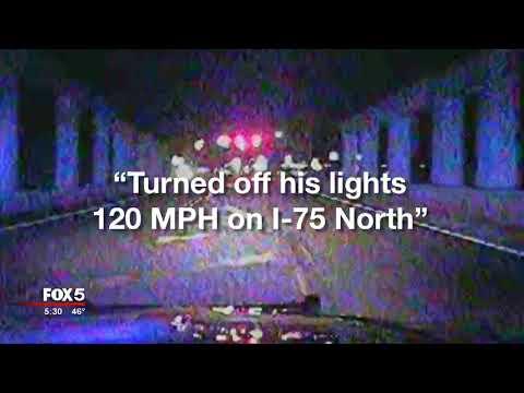 Calhoun Police Officer Crash Caught On Camera