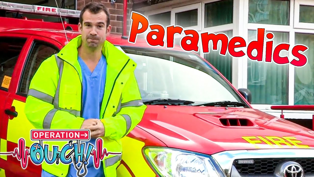 A Day With the Paramedics! 🚑 | Biology for Kids | Operation Ouch