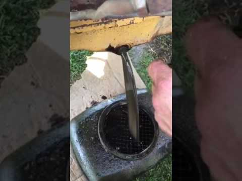 how to clean engine sludge