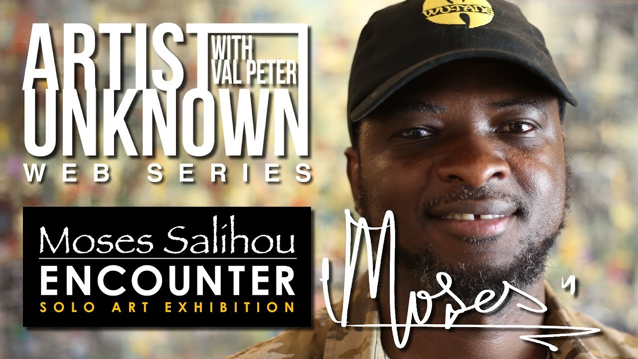"AU PROMO - MOSES SALIHOU - ""ENCOUNTER SOLO ART EXHIBIT"""