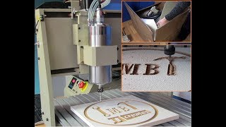 CNC 6040 Router – Unboxing, Assembly and First Cuts – AWESOME MACHINE!!!