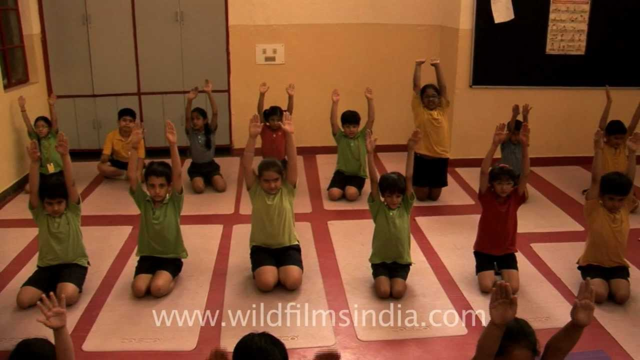 Yoga Class For Students At Shri Ram School Vasant Vihar