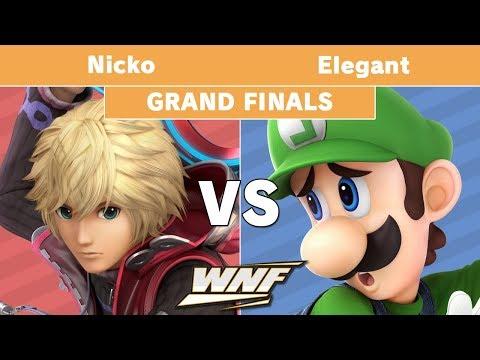 WNF 1.4 - Nicko (Shulk) vs Elegant (Luigi) Grand Finals - Smash Ultimate thumbnail