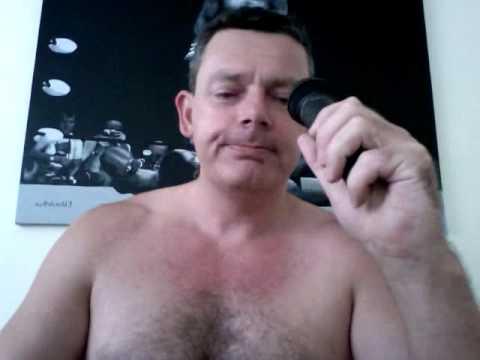 The Naked Karaoke Man sings Neil Diamond