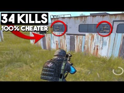 CHEATER / HACKER WALKS THROUGH WALLS! | 34 KILLS Duo vs Squad | PUBG Mobile