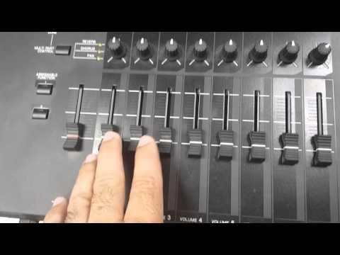 Como configurar el Yamaha Motif XF8