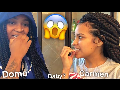 DOMO IS GOING TO BE MY BABY DADDY !! PRANK