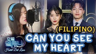 Gambar cover [TAGALOG] CAN YOU SEE MY HEART-HEIZE 헤이즈 (HOTEL DEL LUNA 호텔 델루나 OST) by Marianne Topacio