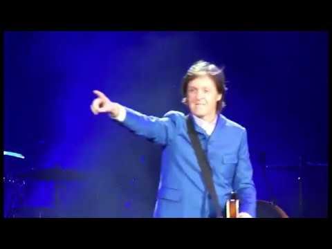 Paul McCartney Live At The Minute Maid Park, Houston, USA (Wednesday 14th November 2012)