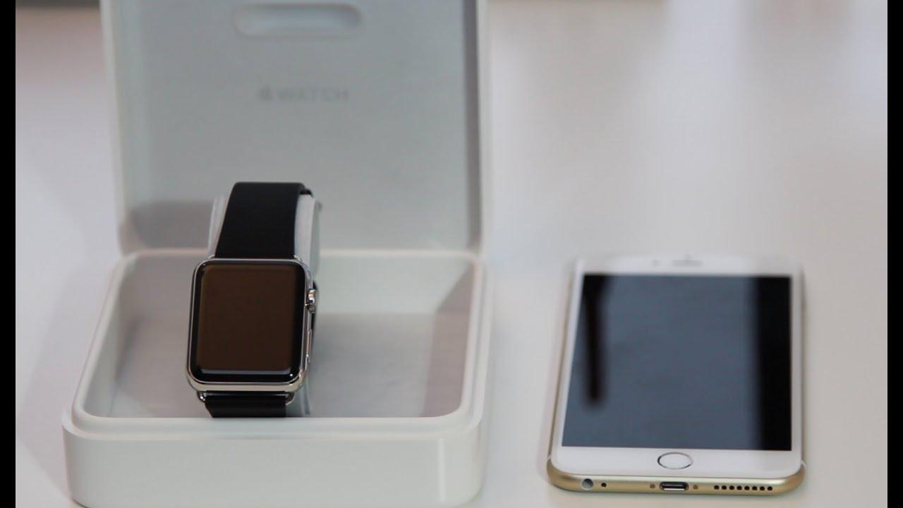 e87c6696f كيفية ربط ساعة أبل بالأيفون - YouTube