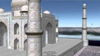 Taj Mahal D Virtual Tour Using Google Maps