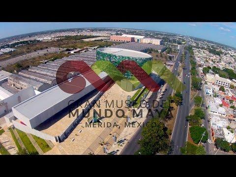 RECORRIDO EN EL GRAN MUSEO DEL MUNDO MAYA DE MÉRIDA
