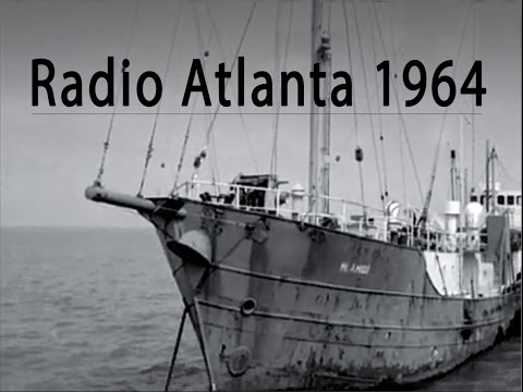 RADIO ATLANTA 1964 from the MV Mi Amigo Pirate Radio Ship