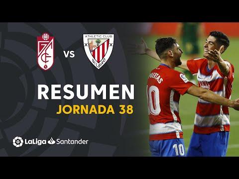 Granada Ath. Bilbao Goals And Highlights