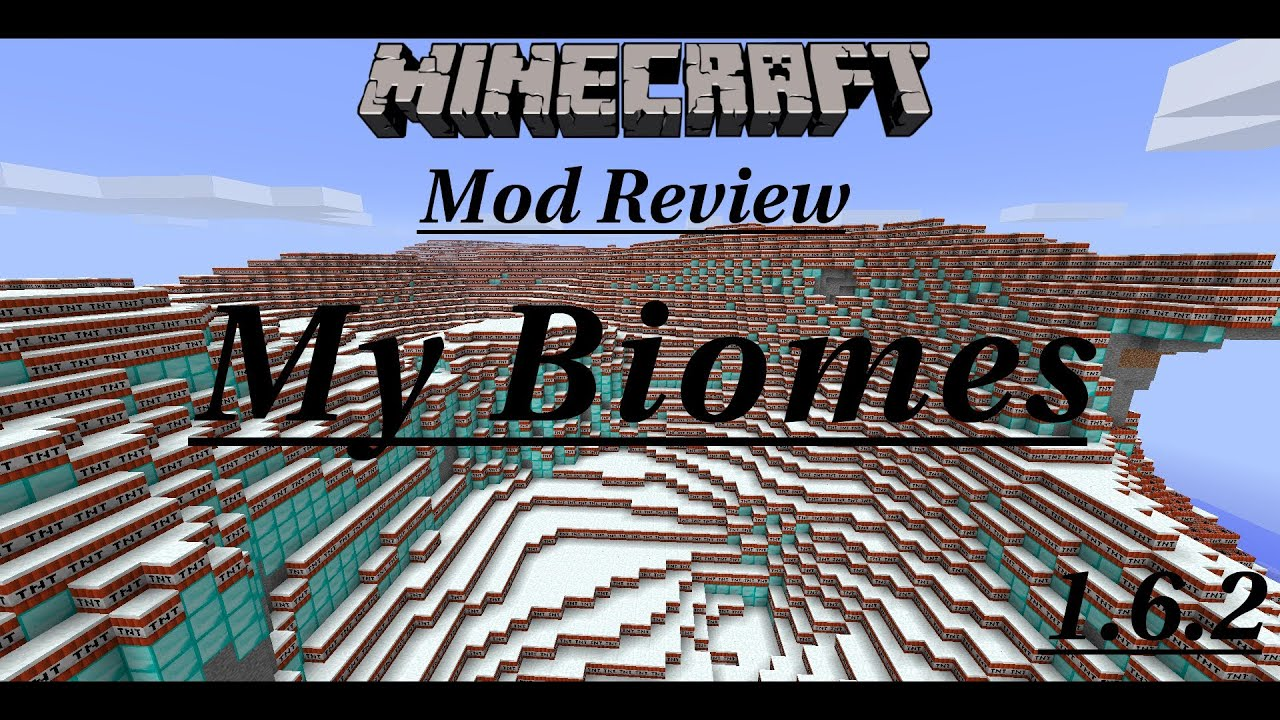 Minecraft: My Biomes Mod Review (CREATE YOUR OWN BIOMES ...