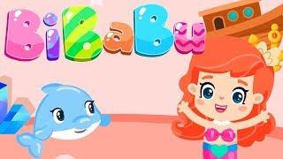 Bibabu Zeichentrickfilm für Kinder. Farben lernen auf Deutsch.