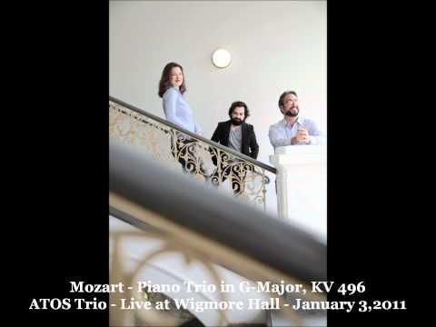 ATOS Trio: W.A.Mozart - Piano Trio in G-Major, KV496 - live at Wigmore Hall