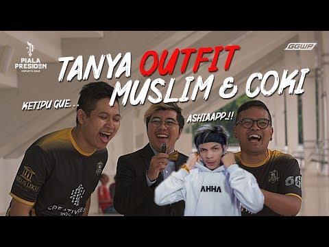 COKI MUSLIM CINTA MOBILE LEGENDS!? HARGA OUTFIT MAJELIS LUCU INDONESIA