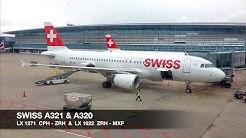 TRIP REPORT | Swiss A321/A320 | Copenhagen ✈ Milan MXP via Zürich | Economy Class