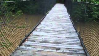 April 24, 2011 Panther Creek From A Swinging Bridge.wmv