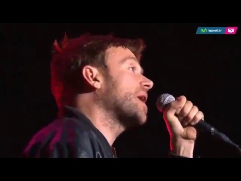 Blur - Ghost Ship - Live at Movistar Arena, Chile 07/10/15