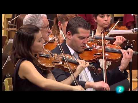 Pachelbel Canon en Re Mayor-RTVE (Adrian leaper) Orquesta sinfonica Navidad 2008