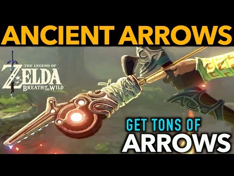 Ancient Arrows - How to Find the Most Powerful Arrows in Zelda Breath of the Wild