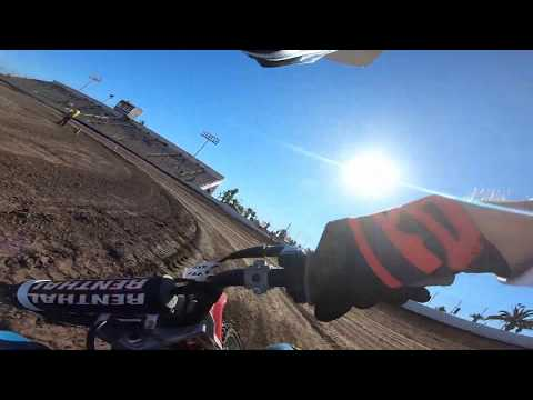 XR100 Flat Track Ventura Raceway Andy Ellis 100cc Practice